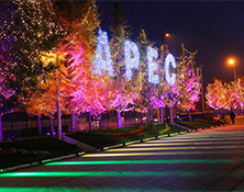 VIKY LED is selected for APEC CHINA 2014  welcome dinner at Water Cube